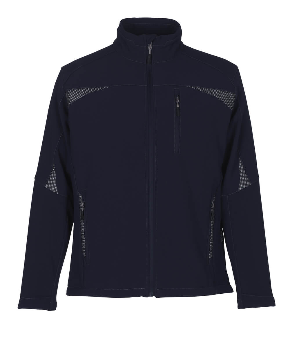 10002-883-01 Softshell jakke - marine