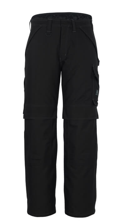 10090-194-09 Vinterbukser med knælommer - sort
