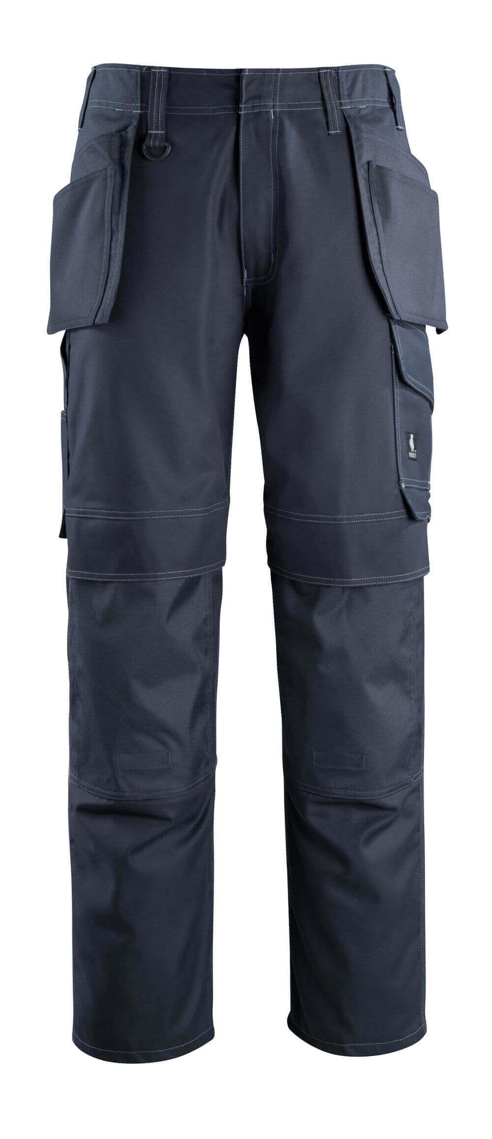 10131-154-010 Bukser med hængelommer - mørk marine