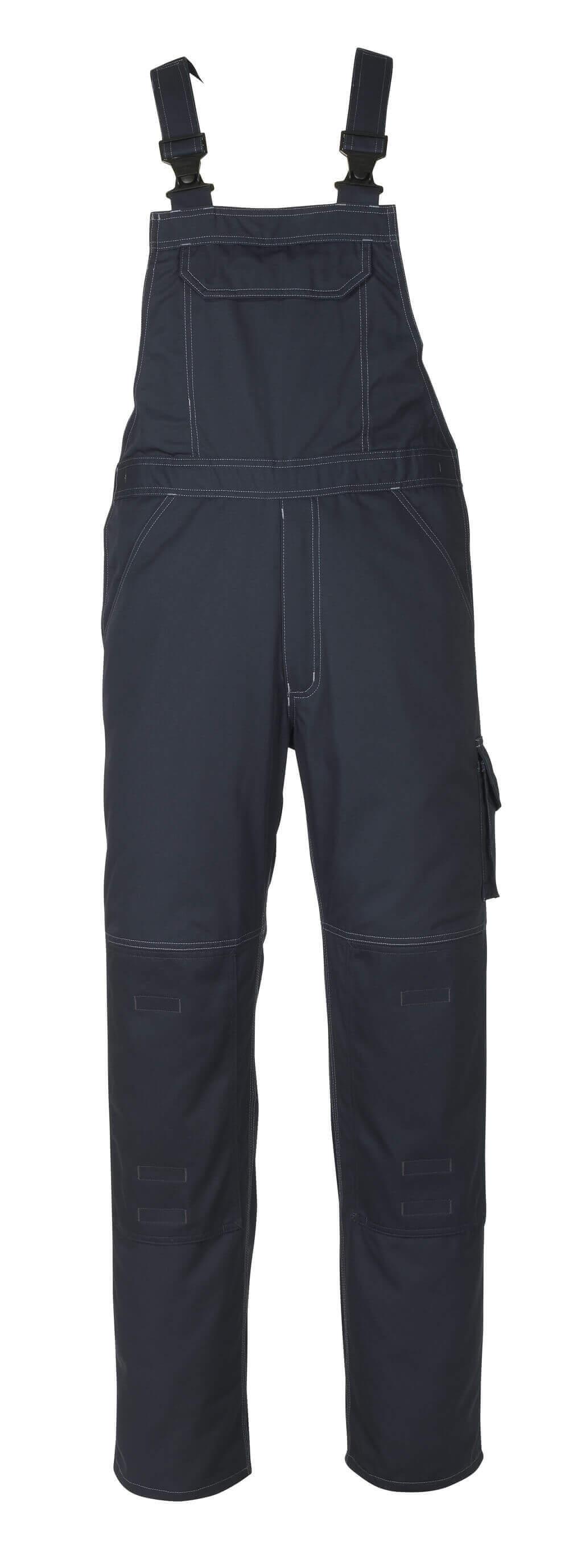10569-442-010 Overall med knælommer - mørk marine