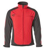 12002-149-0209 Softshell jakke - rød/sort
