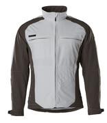 12002-149-1809 Softshell jakke - mørk antracit/sort