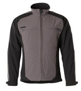 12002-149-88809 Softshell jakke - antracit/sort