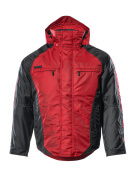 12035-211-0209 Vinterjakke - rød/sort