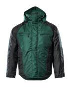 12035-211-0309 Vinterjakke - grøn/sort