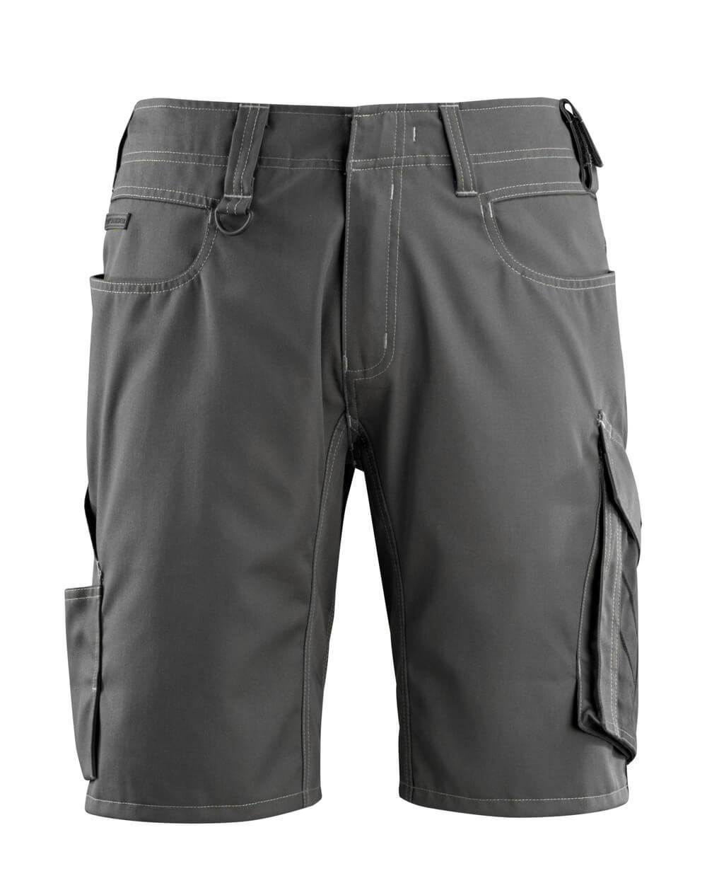 12049-442-1809 Shorts - mørk antracit/sort