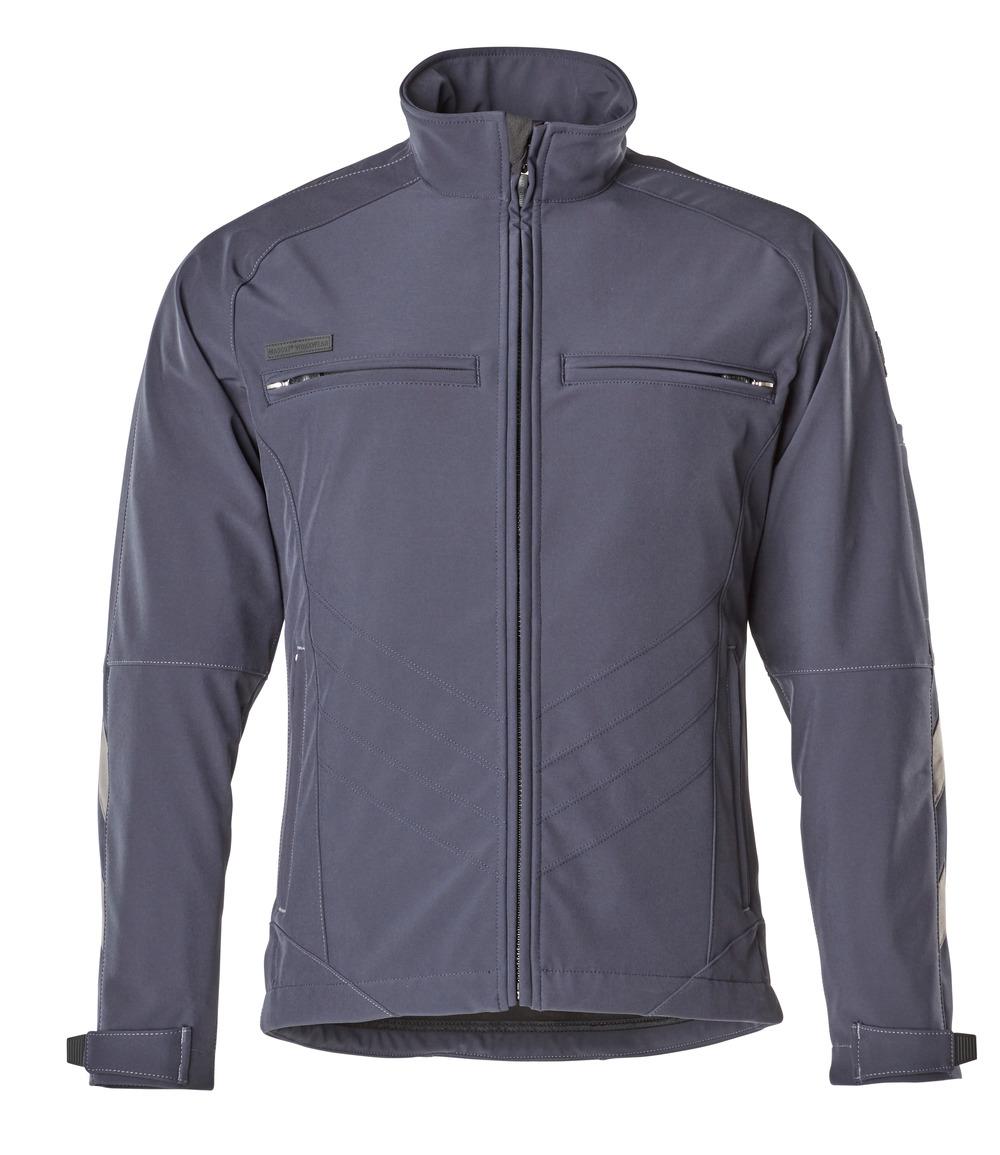 12102-149-010 Softshell jakke - mørk marine