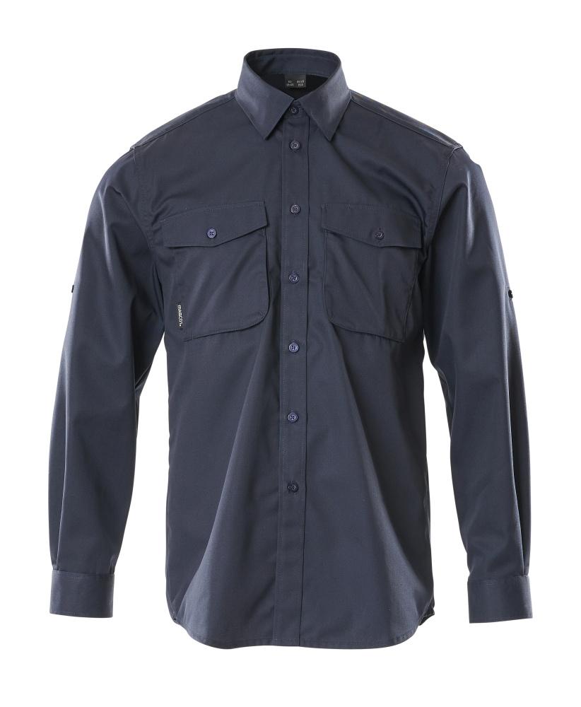 13004-230-010 Skjorte - mørk marine