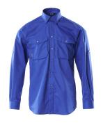13004-230-11 Skjorte - kobolt