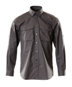13004-230-18 Skjorte - mørk antracit