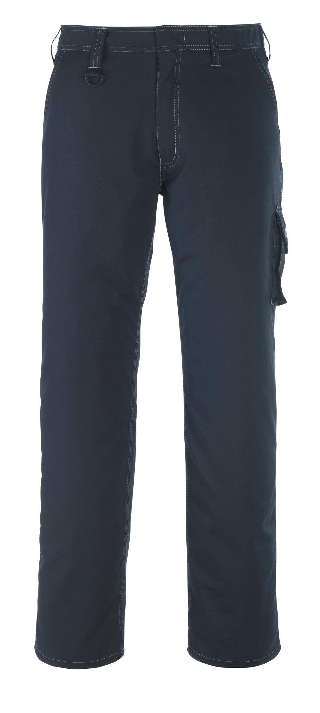 13579-442-010 Bukser med lårlommer - mørk marine