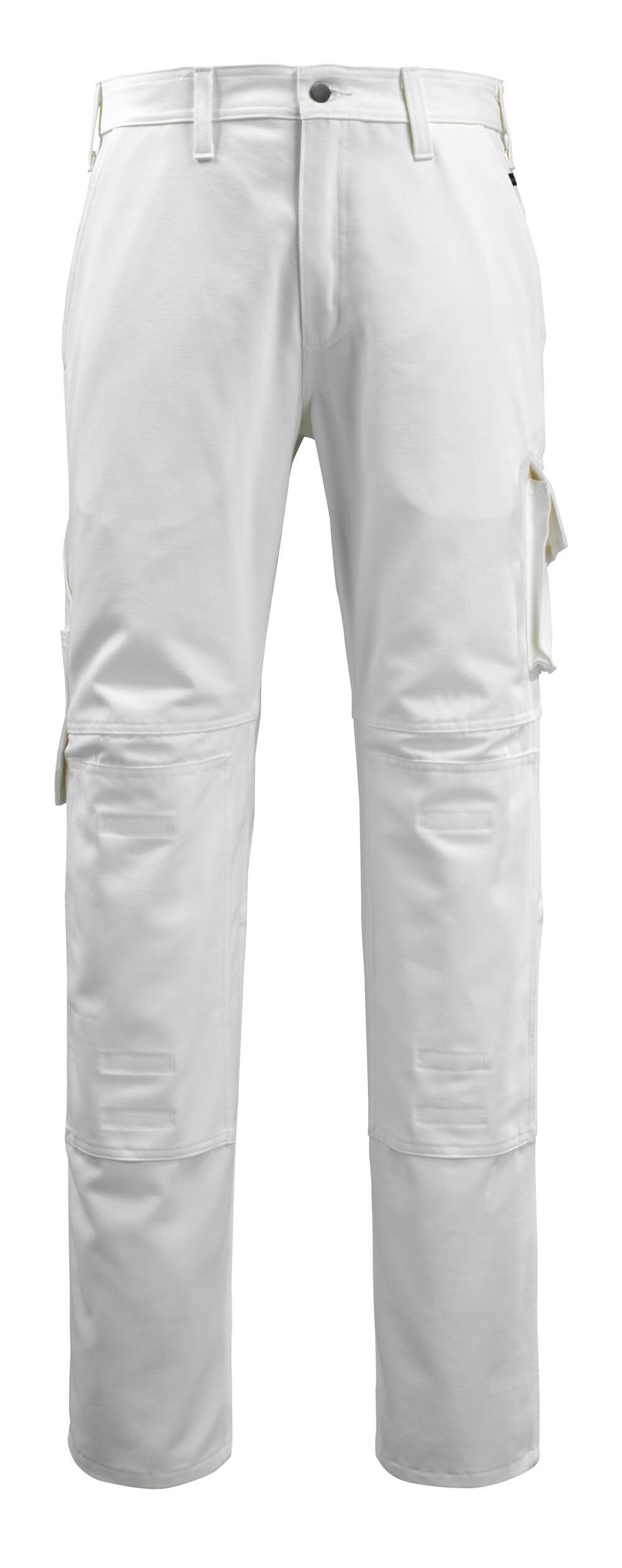 14579-197-06 Bukser med knælommer - hvid