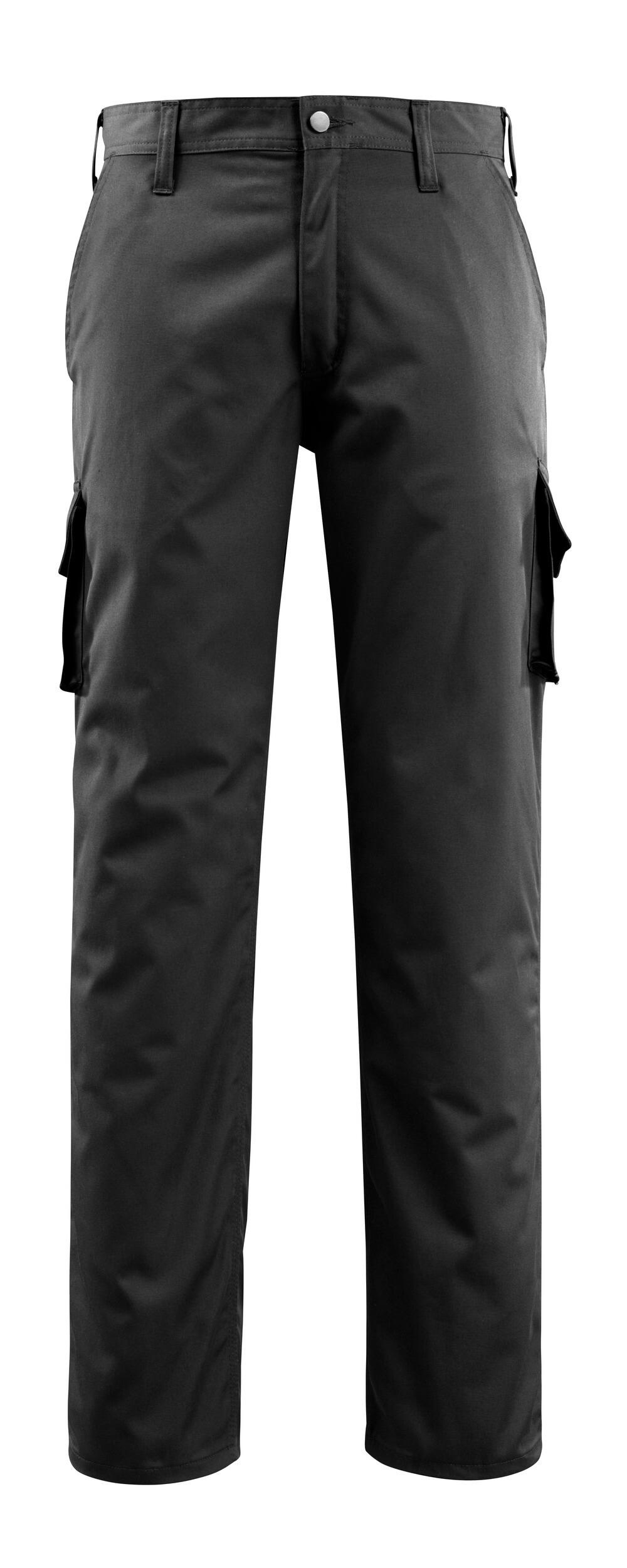 14779-850-09 Bukser med lårlommer - sort