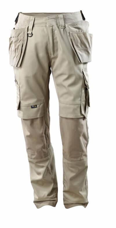 15031-010-010 Bukser med knæ- og hængelommer - mørk marine
