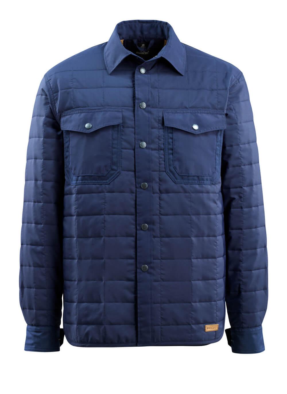 15304-097-01 Skjorte med fór - marine