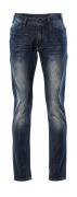 15379-869-66 Jeans - vasket mørkeblå denim