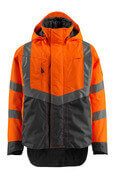 15501-231-1418 Skaljakke - hi-vis orange/mørk antracit
