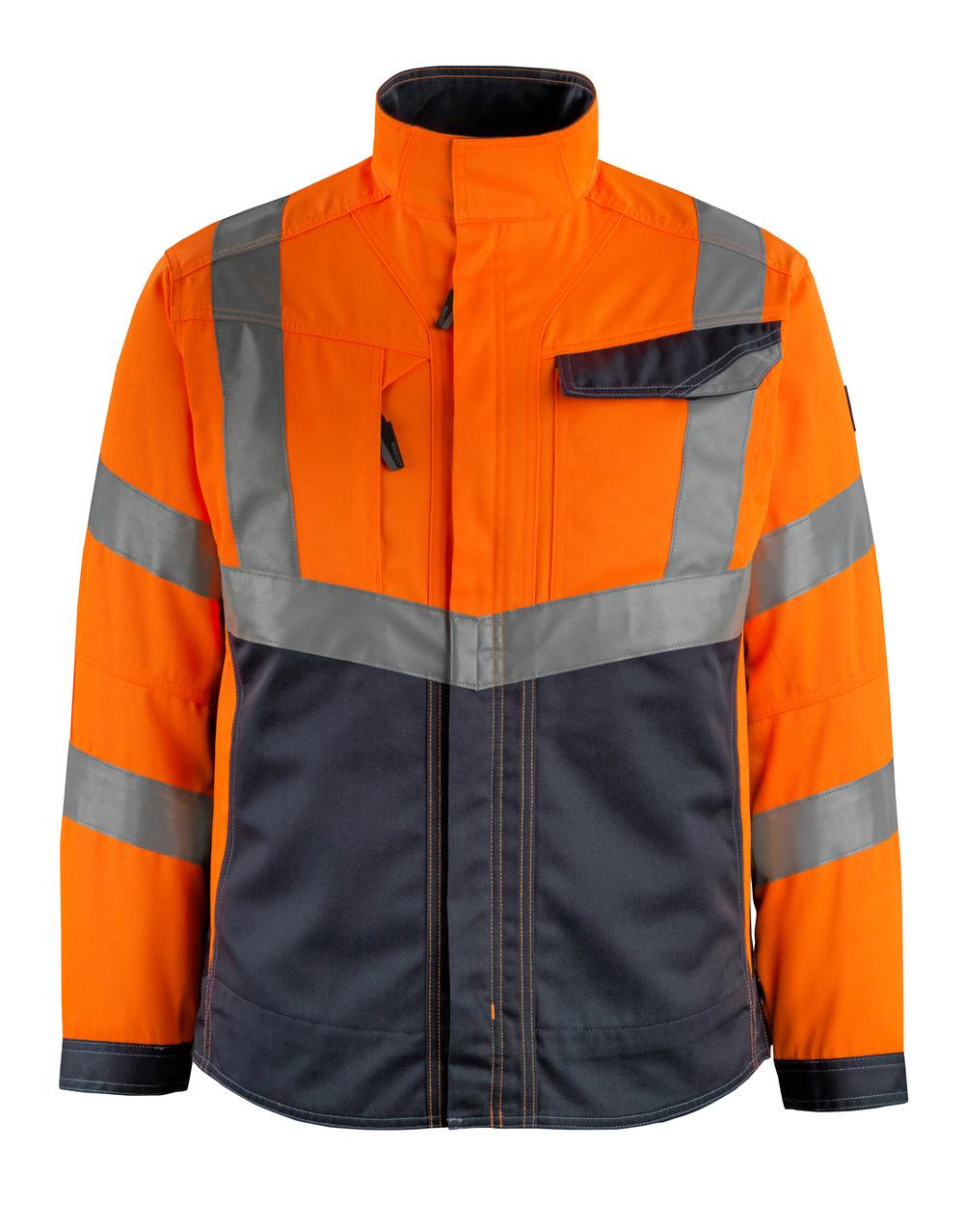 15509-860-14010 Jakke - hi-vis orange/mørk marine