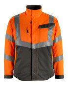 15509-860-1418 Jakke - hi-vis orange/mørk antracit