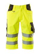 15549-860-1718 Shorts, lange - hi-vis gul/mørk antracit
