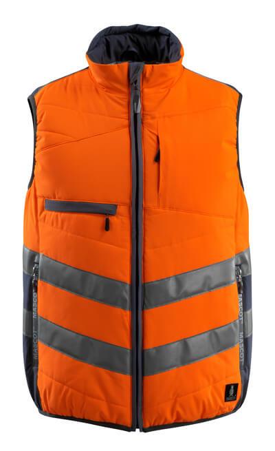15565-249-14010 Vintervest - hi-vis orange/mørk marine