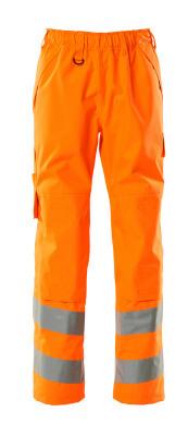 15590-231-14 Overtræksbuks med knælommer - hi-vis orange