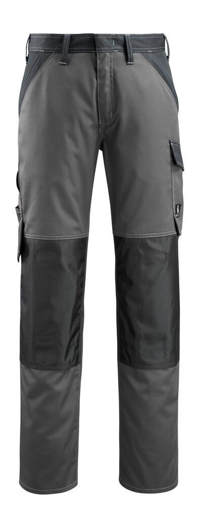 15779-330-11010 Bukser med knælommer - kobolt/mørk marine
