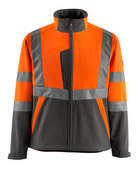 15902-253-1418 Softshell jakke - hi-vis orange/mørk antracit
