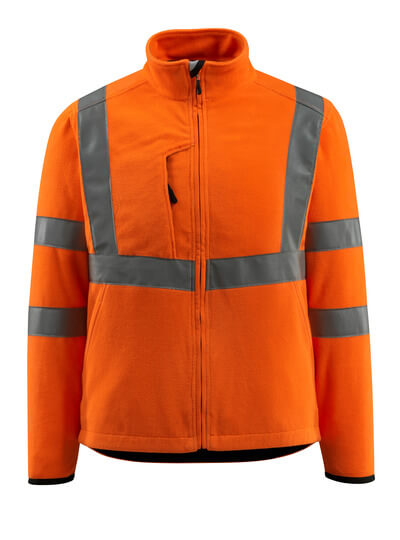 15903-270-14 Fleecejakke - hi-vis orange