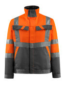15909-948-1418 Jakke - hi-vis orange/mørk antracit