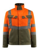 15909-948-1433 Jakke - hi-vis orange/mosgrøn
