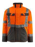 15935-126-1418 Vinterjakke - hi-vis orange/mørk antracit