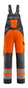 15969-948-1418 Overall med knælommer - hi-vis orange/mørk antracit