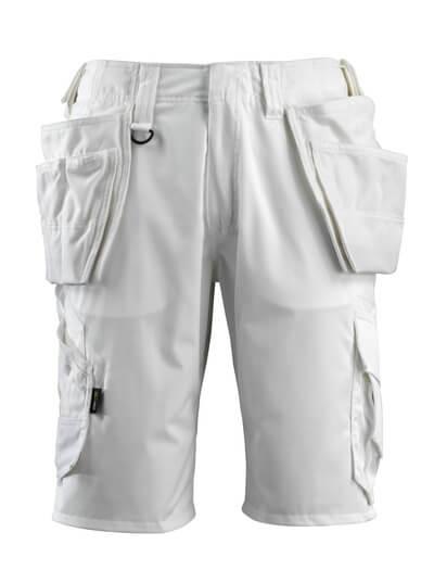 16049-230-06 Shorts med hængelommer - hvid