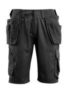16049-230-09 Shorts med hængelommer - sort