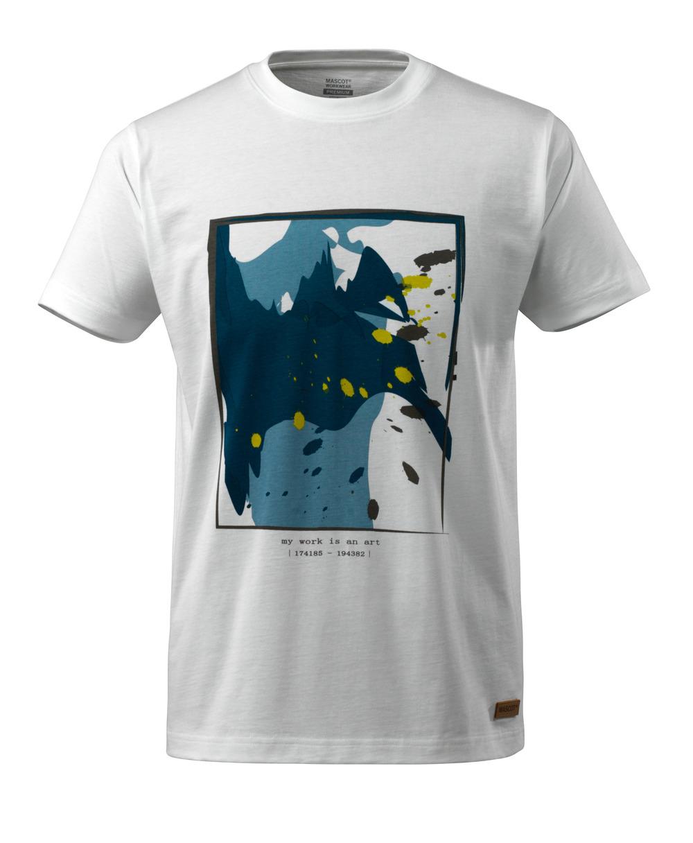 17082-250-06 T-shirt - hvid