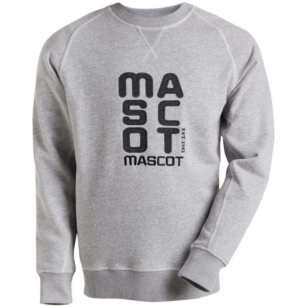 17084-830-08 Sweatshirt - grå-meleret