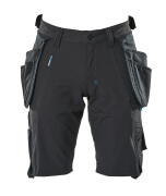 17149-311-09 Shorts med hængelommer - sort