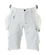 17149-311-06 Shorts med hængelommer - hvid