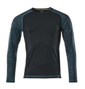 17281-944-010 T-shirt, langærmet - mørk marine