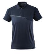 17283-945-010 Poloshirt med brystlomme - mørk marine