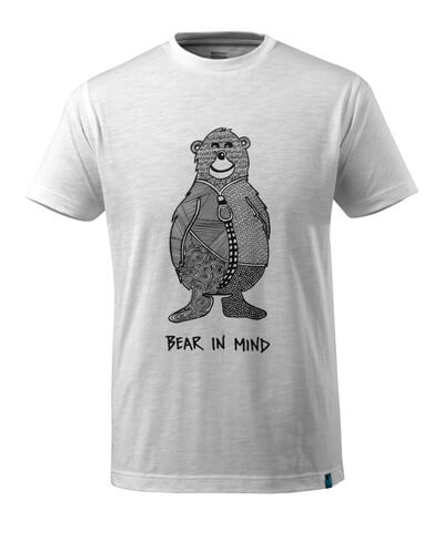 17381-983-06 T-shirt - hvid