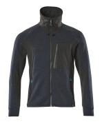 17484-319-01009 Sweatshirt med lynlås - mørk marine/sort
