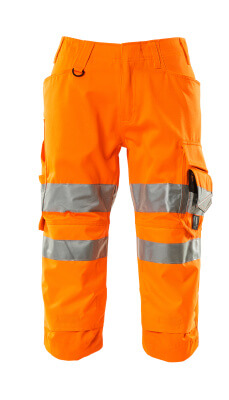 17549-860-14 Knickers med knælommer - hi-vis orange