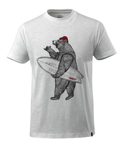 17982-983-06 T-shirt - hvid