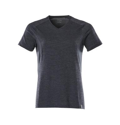 18092-801-010 T-shirt - mørk marine-meleret