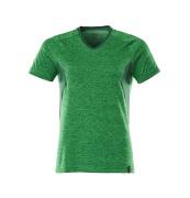 18092-801-33303 T-shirt - græsgrøn-meleret/grøn