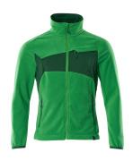 18303-137-33303 Fleecejakke - græsgrøn/grøn