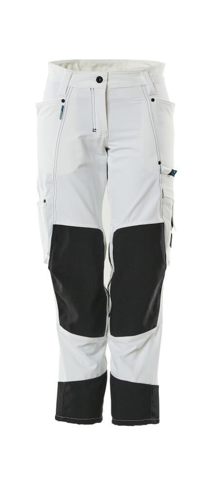 18378-311-06 Bukser med knælommer - hvid