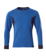 18384-962-01091 Sweatshirt - mørk marine/azurblå